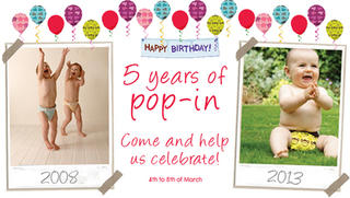 Celebrating 5 years of the Pop-In Nappy!